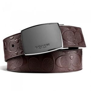 COACH Classic Plaque Cut-To-SizeI Reversible Belt